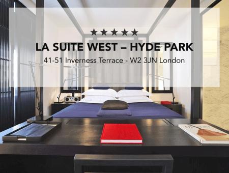 LA SUITE WEST – HYDE PARK HOTEL
